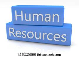 Blue box Human Resources