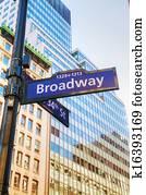 Broadway sign