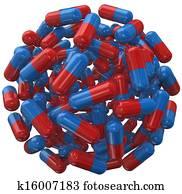 Capsule Pill Ball Prescription Medicine Sphere