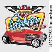 Classic American Speed car