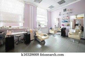 clean european hair salon