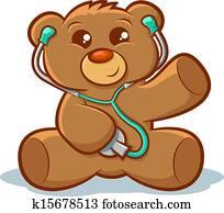 Docter Teddy bear