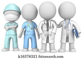 doktoren, und, nurse.