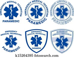 EMT Paramedic Medical Designs
