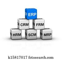 ERP System illustration