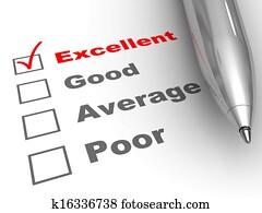 Excellent evaluation