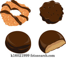 Girl Scout Cookies Chocolate