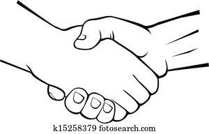 handshake clipart royalty free 22 021 handshake clip art vector eps rh fotosearch com handshake clip art images handshake clipart free