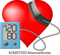 Heart - Blood pressure monitor
