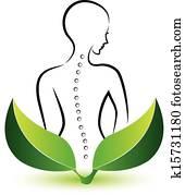 Human Spine logo