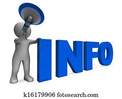 Info Announcement Shows Information Inform And Faq