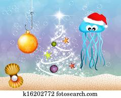 Jellyfish at Christmas