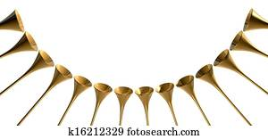 Medieval Trumpet Circle