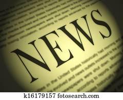 Newspaper Shows Media Journalism Newspapers And Headlines