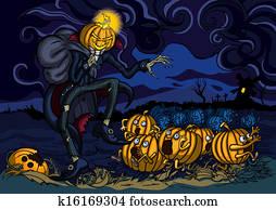 Night of runaway pumpkins