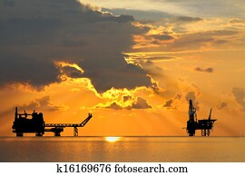 Oil and gas platform