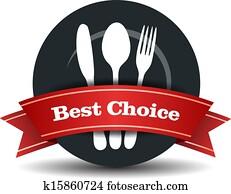 Restaurant Food Quality Badge