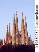 Sagrada Familia in Barcelona, by G