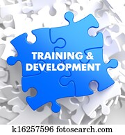 Training and Development. Educational Concept.