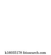 vector radio tower broadcast