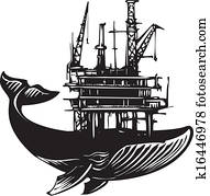 Whale Oil Rig