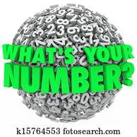 What's Your Number Question Sphere Credit Score Budget Limit
