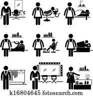 Beauty Salon Jobs Occupations
