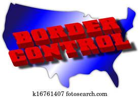 Border Control Graphic