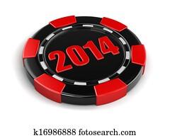 casino chip 2014