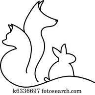 Cat Dog and Rabbit