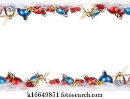 christmas ornaments frame