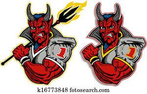 devil football player