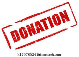 Donation stamp