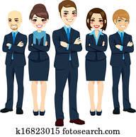 erfolgreich, mitarbeitergruppe