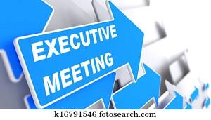 Executive Meeting on Blue Arrow.