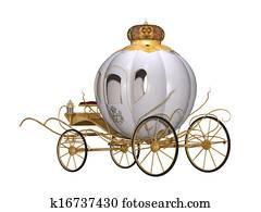 fairy tale royal carriage