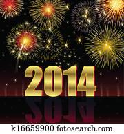 frohes neues jahr, 2014