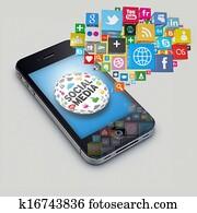 Iphone socialmedia
