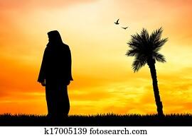 Jesus silhouette