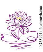 Lotus Flower purple