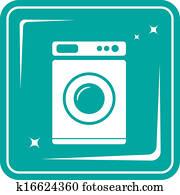 banque d 39 illustrations lavage symboles k8606616 recherche de clip arts de dessins d. Black Bedroom Furniture Sets. Home Design Ideas
