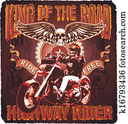 motorcycle king of the road