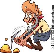 Old gold miner