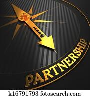 Partnership. Business Concept.