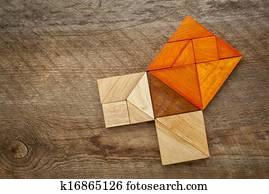 Risultati immagini per tangram teorema della corda cina