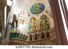 Sagrada Familia interior, Barcelona