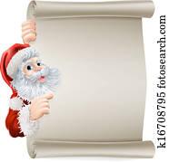 Santa Christmas Poster