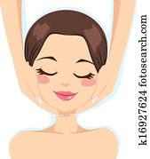 Skincare Facial Massage