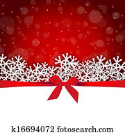 snowflakes gift holiday background