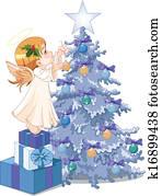 weihnachten, niedlich, engelchen